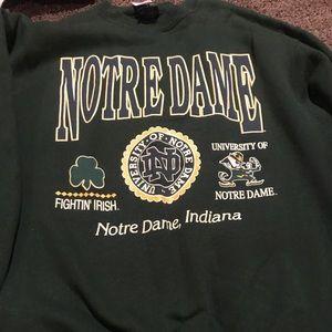 Notre Dame vintage Sweater